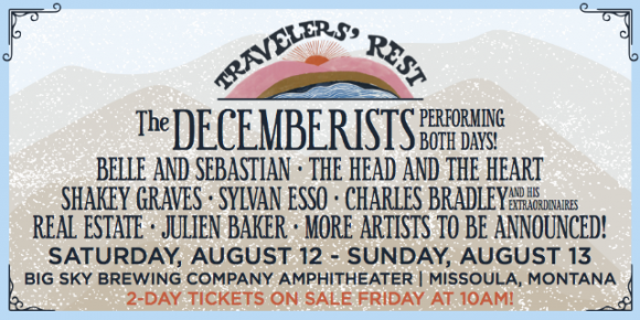 Travelers Rest Festival - 2 Day Pass at Big Sky Brewing Company Amphitheater