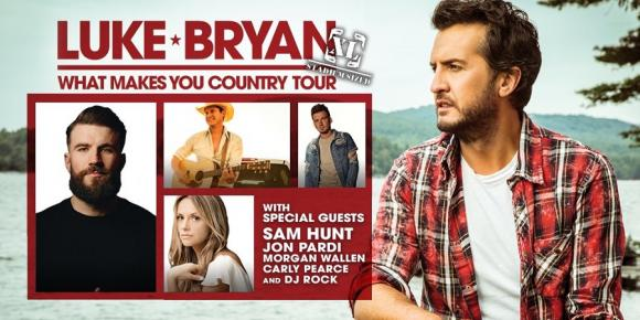 Luke Bryan, Jon Pardi & Carly Pearce at Big Sky Brewing Company Amphitheater