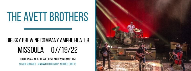 The Avett Brothers at Big Sky Brewing Company Amphitheater